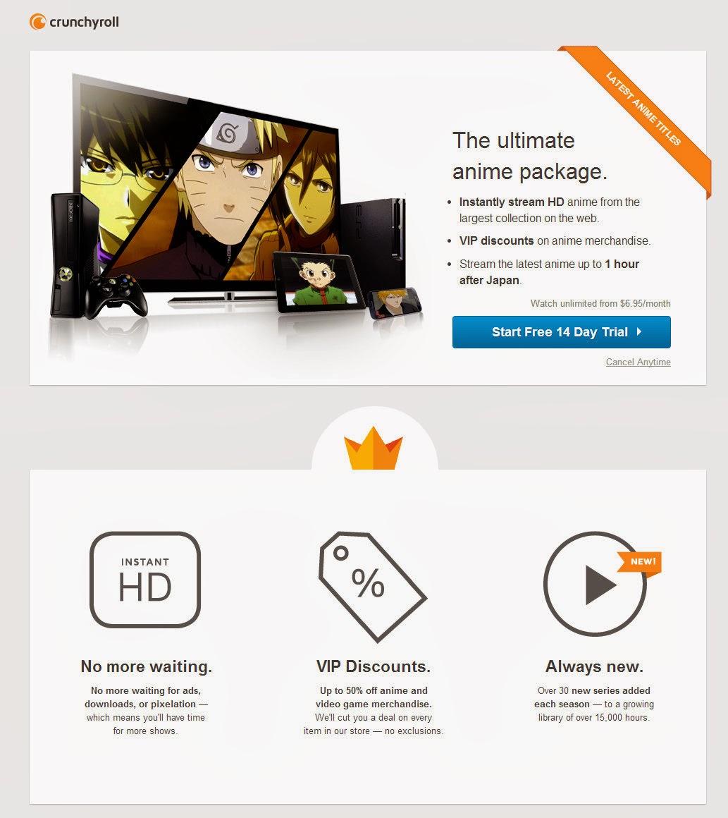 crunchyroll premium account apk