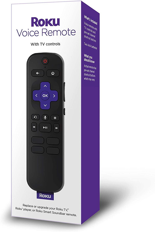 Roku Voice Remote (Official) for Roku Players and Roku TVs - Izzudrecoba  Store